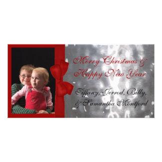 Noël Photocard Cartes De Vœux Avec Photo
