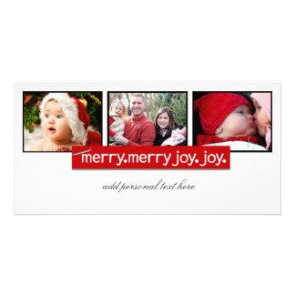 Noël simple Photocards Photocartes