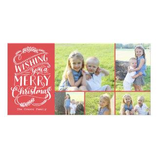 Noël souhaite la photo de la collection 5 photocarte