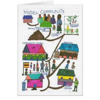 Noelines vorbildliche Gemeinschaft Karte