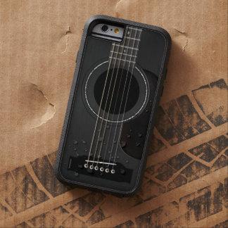 Noir de guitare acoustique coque tough xtreme iPhone 6