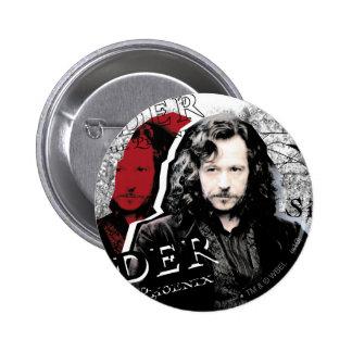 Noir de Sirius Badge Rond 5 Cm