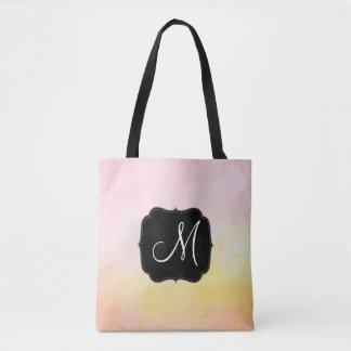 Nom de monogramme de Lite tout plus de - imprimez Tote Bag