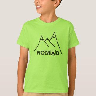 Nomade-Forscher scherzt T-Stück T-Shirt