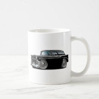 Nomade-schwarzes Auto 1956 Kaffeetasse