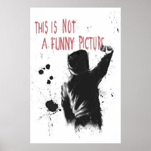 Non drôle posters