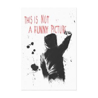 Non drôle toiles