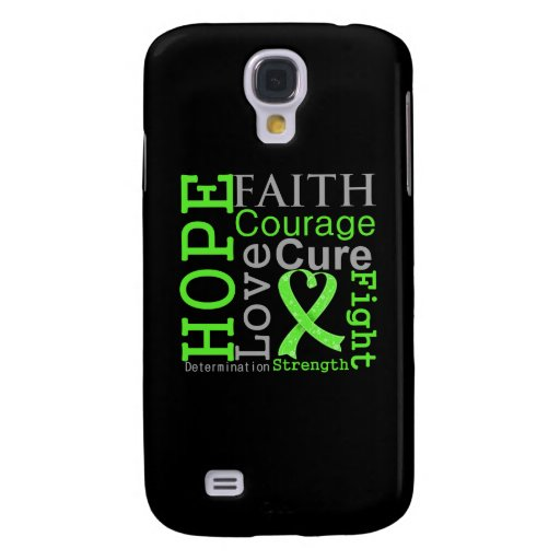 Non-Hodgkin-Lymphom-Hoffnungs-Glauben-Motto Galaxy S4 Hülle
