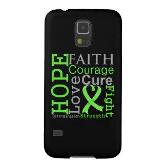 Non-Hodgkin-Lymphom-Hoffnungs-Glauben-Motto Hülle Fürs Galaxy S5
