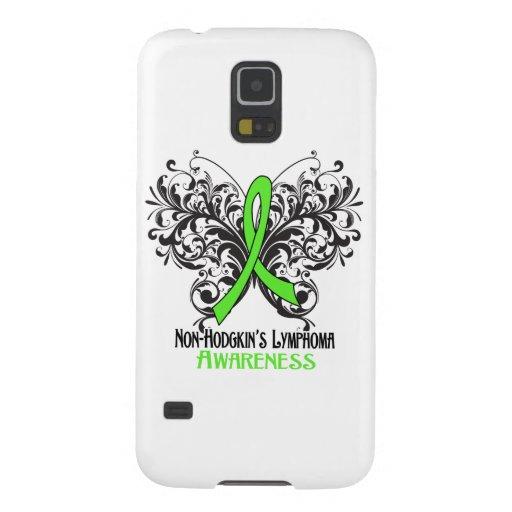 Non-Hodgkins Lymphom-Bewusstseins-Schmetterling Samsung Galaxy S5 Hülle