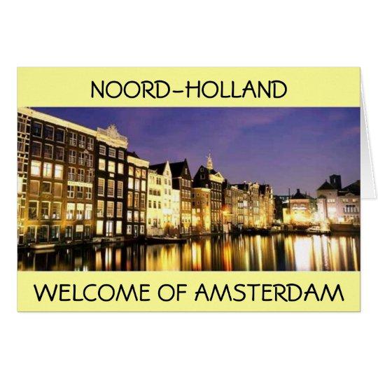 NOOR-, HOLLAND-Karte Karte