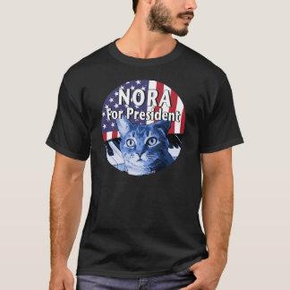Nora für Präsidenten #4 T-Shirt