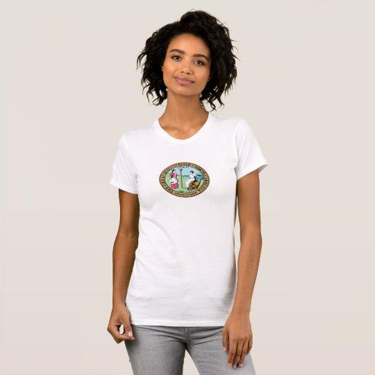 Nord-CarolinaStaats-Siegelamerika-Republiksymbol T-Shirt