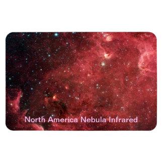 Nordamerika-Nebelfleck-Infrarot Magnet