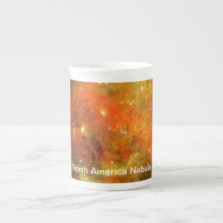 Nordamerika-Nebelfleck Prozellantasse