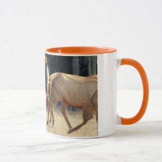 Nordamerikanische Elche Tasse
