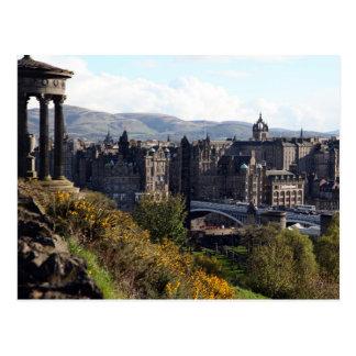 Nordbrücke, Edinburgh Postkarte