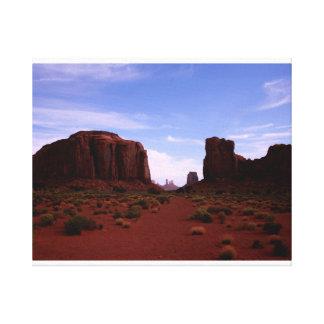 Nordfenster, Monument-Tal, Arizona Leinwanddruck