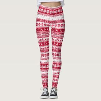 Nordic - skandinavisches Weihnachten Leggings