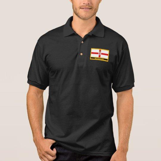 Nordirland-Flagge Polo Shirt