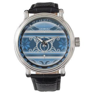 Nordisches Nordweihnachten Armbanduhr