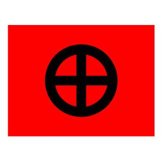 Nordisches Reich-Party, Kolumbien politisch Postkarten