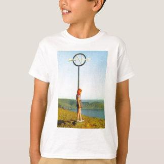 Nordkapmarkierung, Norwegen T-Shirt