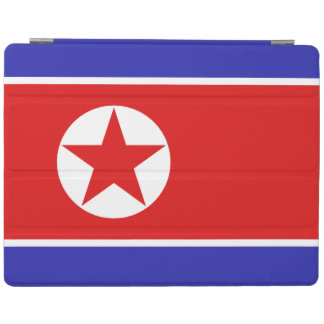 Nordkorea-Flagge iPad Hülle