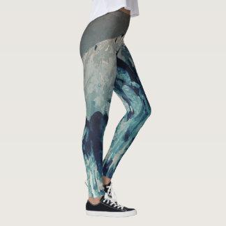 Nördlich schmelzen leggings