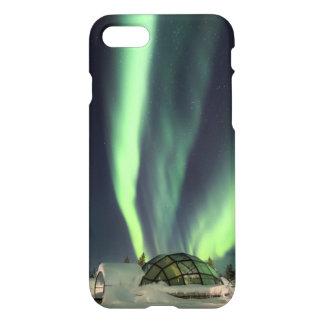 Nordlichter über Finnland iPhone 7 Hülle