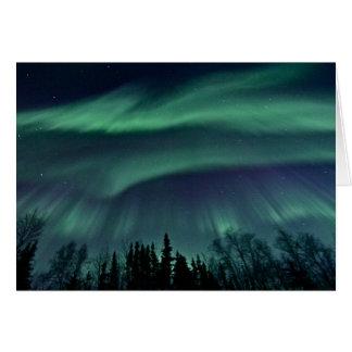 Nordlichter von Alaska Karte