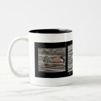 Nordlöffelenten-Enten-Kaffee-Tasse Zweifarbige Tasse