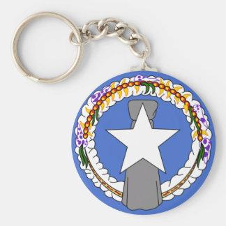 Nordmariana-Flagge Schlüsselanhänger