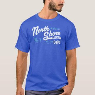 Nordufer, Oahu, Hawaii, das USA surft T-Shirt