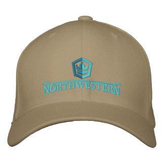 Nordwestliche Crew-Kappe Bestickte Baseballkappe