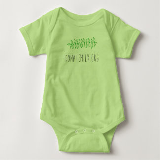 Nordwestmuttermilch-Bank-Wedel - Baby-T-Stück Baby Strampler