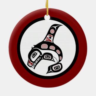 Nordwestpazifikküste Haidakunst Killerwal Keramik Ornament
