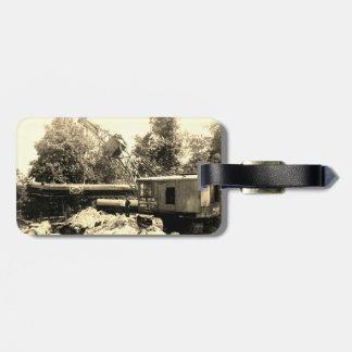 NORDWESTrohr DES KRAN-BETREIBER-MODELL-104 Gepäckanhänger