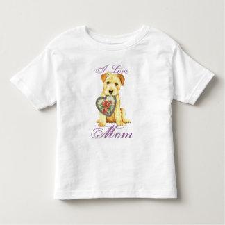Norfolk-Herz-Mamma Kleinkind T-shirt