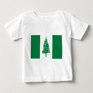 Norfolk-Insel-Flagge Baby T-shirt