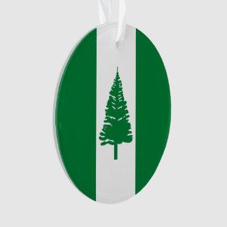 Norfolk-Insel-Flagge Ornament