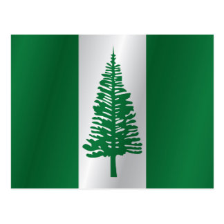 Norfolk-Inselflagge Postkarte
