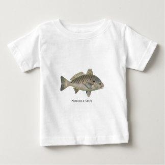 Norfolk-Stelle Baby T-shirt