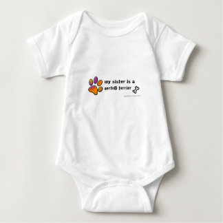 Norfolk-Terrier Baby Strampler