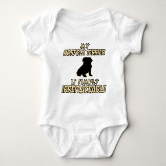 Norfolk Terrier.png Baby Strampler