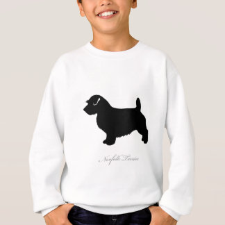 Norfolk-Terrier-Silhouette Sweatshirt