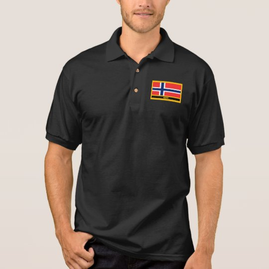 Norge Flagge Polo Shirt
