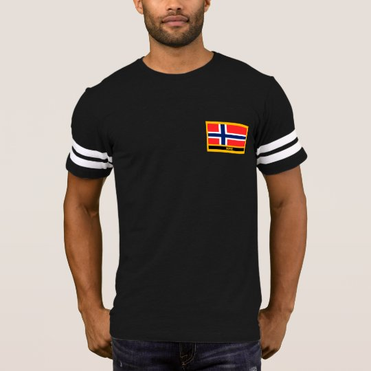Norge Flagge T-Shirt