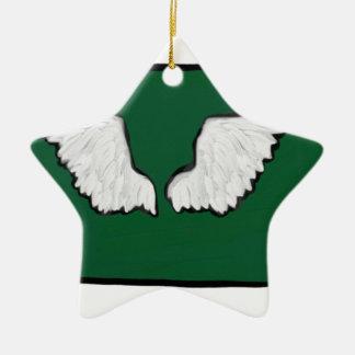Norht Dakota starke Flügel Keramik Ornament