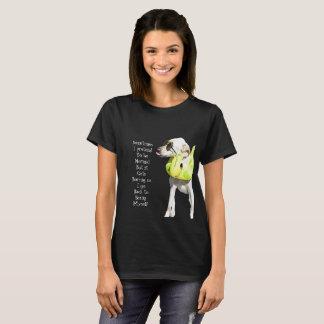 Normal bohrt das T-Stück der Frauen T-Shirt